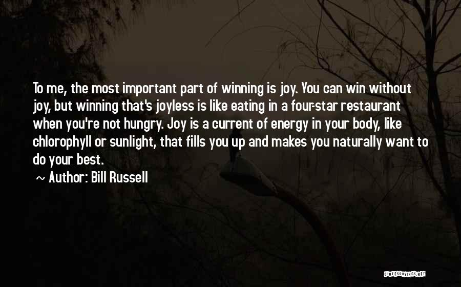 Best Sunlight Quotes By Bill Russell