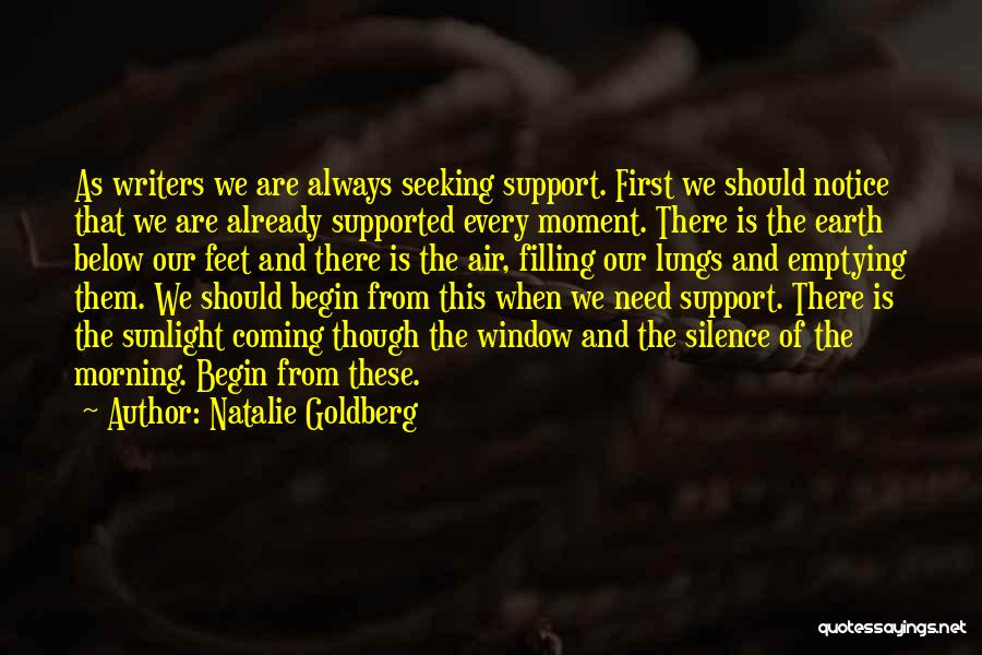 Best Sunlight Quotes By Natalie Goldberg