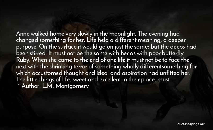 Best Sweet Goodnight Quotes By L.M. Montgomery