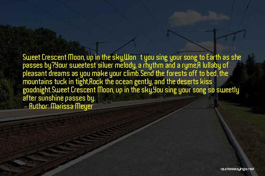 Best Sweet Goodnight Quotes By Marissa Meyer