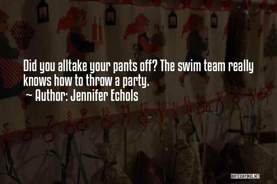 Top 20 Best Swim Team Quotes & Sayings