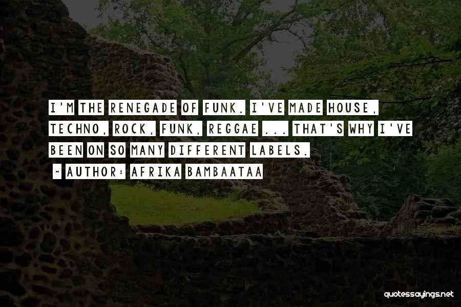 Best Techno Quotes By Afrika Bambaataa