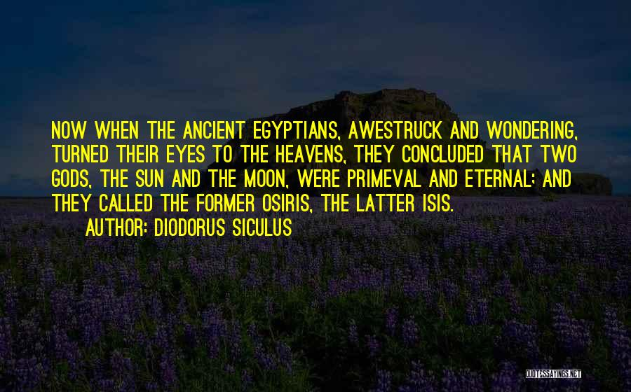 Best Third Eye Quotes By Diodorus Siculus