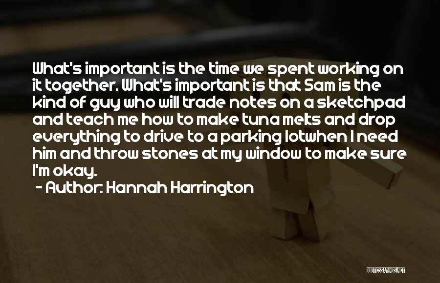 Best Time Spent Together Quotes By Hannah Harrington