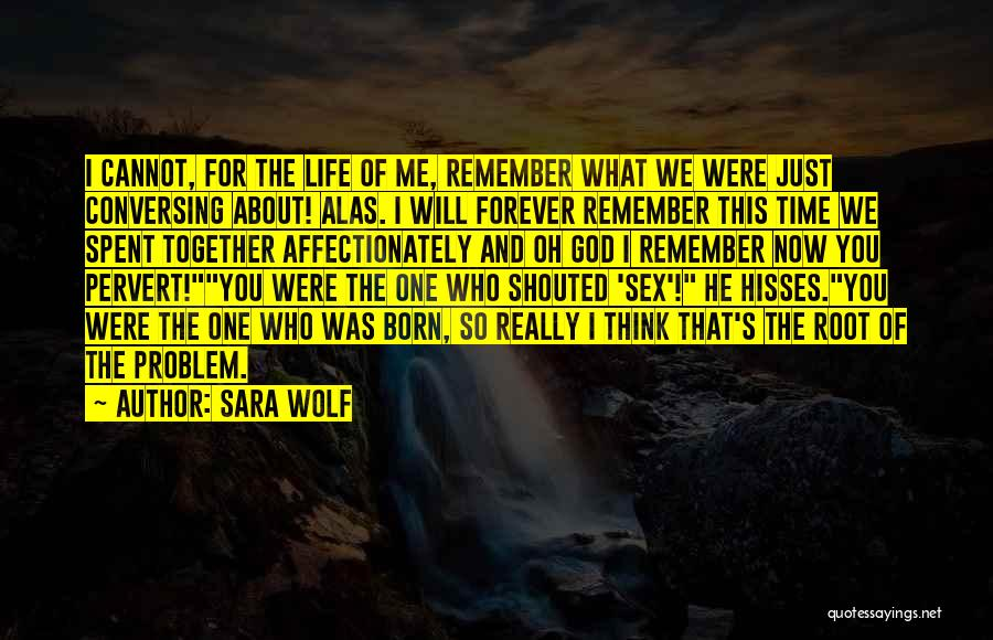 Best Time Spent Together Quotes By Sara Wolf