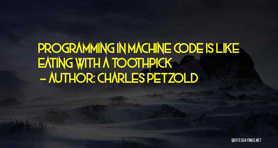 Best Toothpick Quotes By Charles Petzold