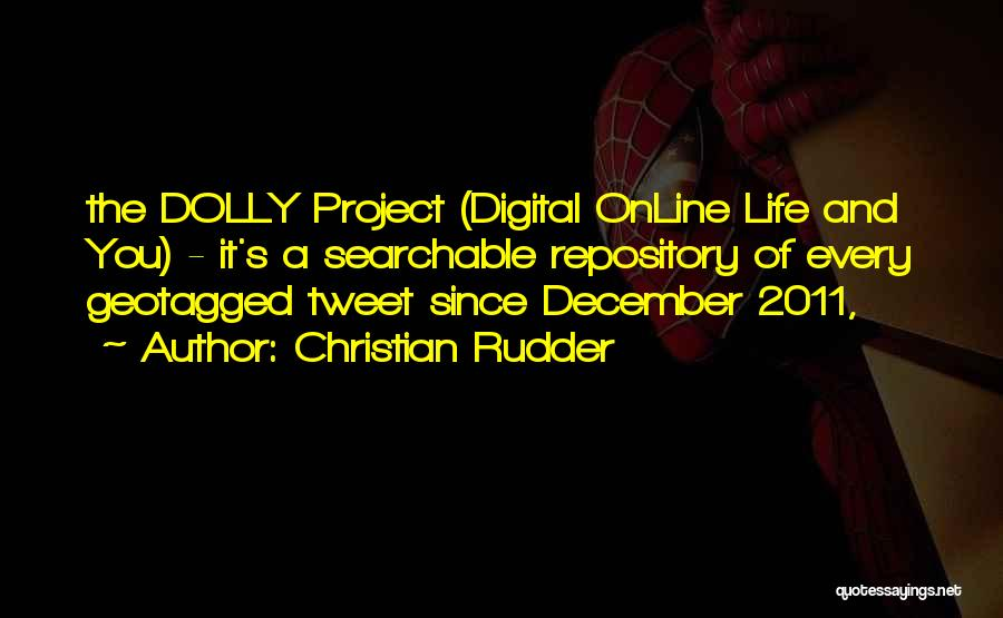 Best Tweet Quotes By Christian Rudder