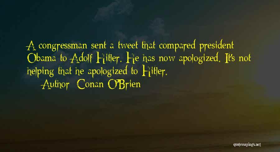 Best Tweet Quotes By Conan O'Brien
