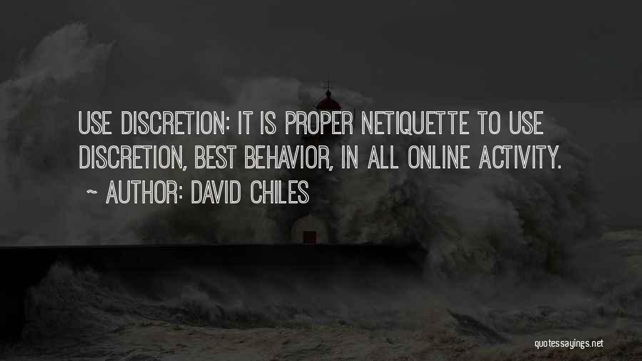 Best Tweet Quotes By David Chiles