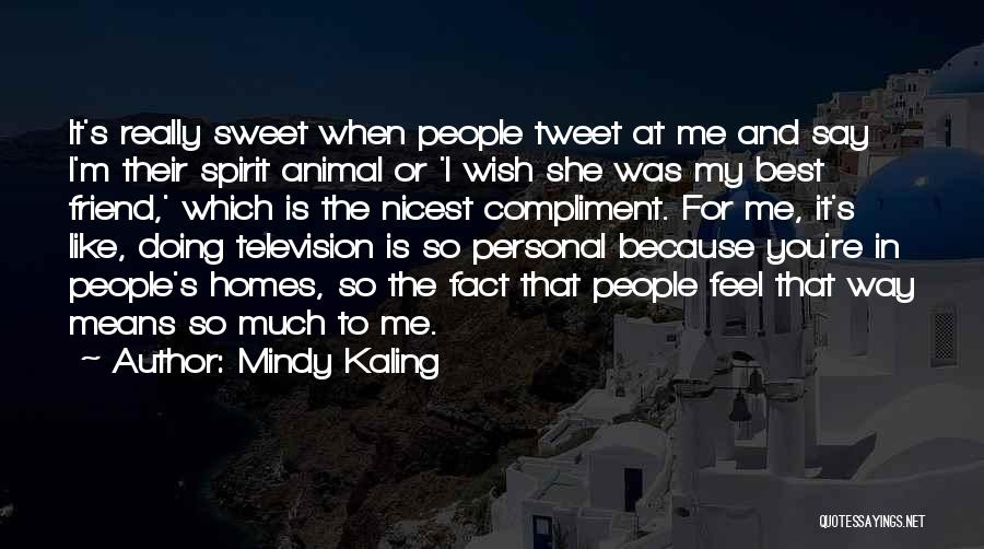 Best Tweet Quotes By Mindy Kaling