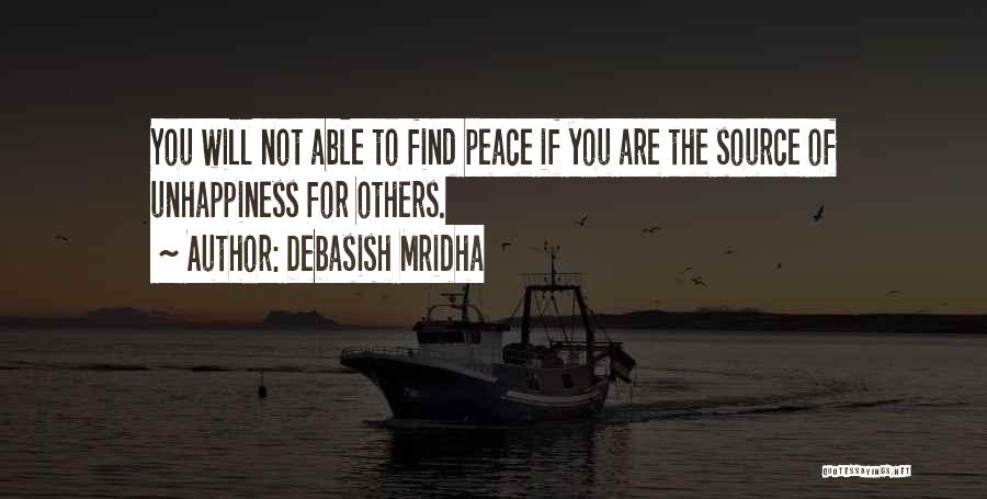 Best Unhappiness Quotes By Debasish Mridha
