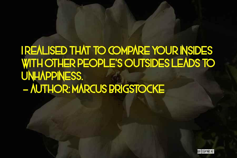Best Unhappiness Quotes By Marcus Brigstocke