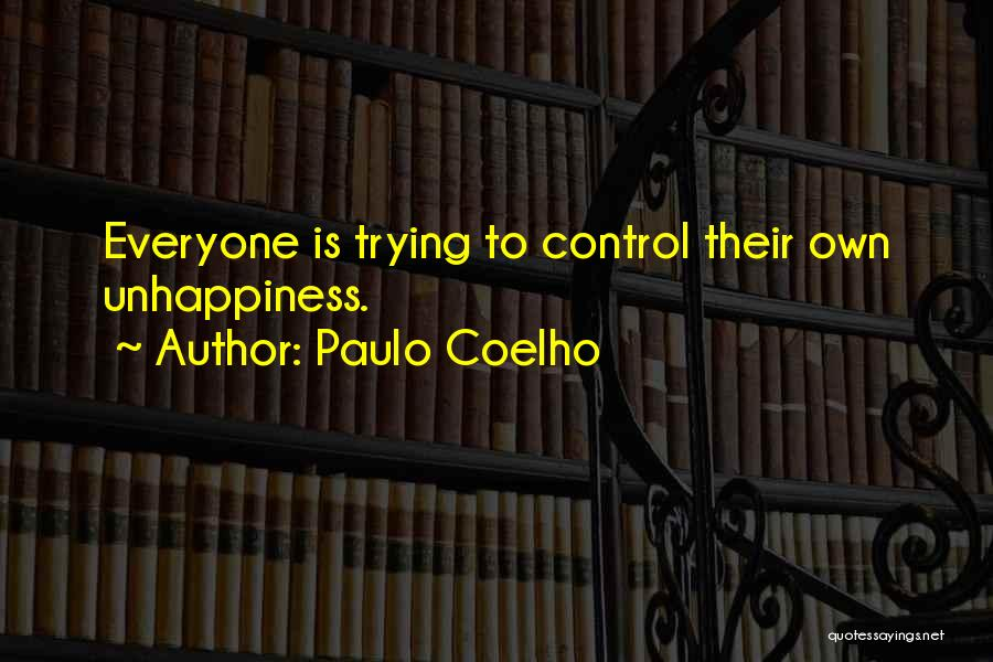 Best Unhappiness Quotes By Paulo Coelho