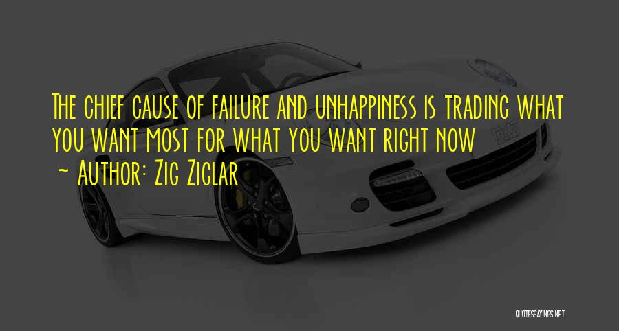 Best Unhappiness Quotes By Zig Ziglar