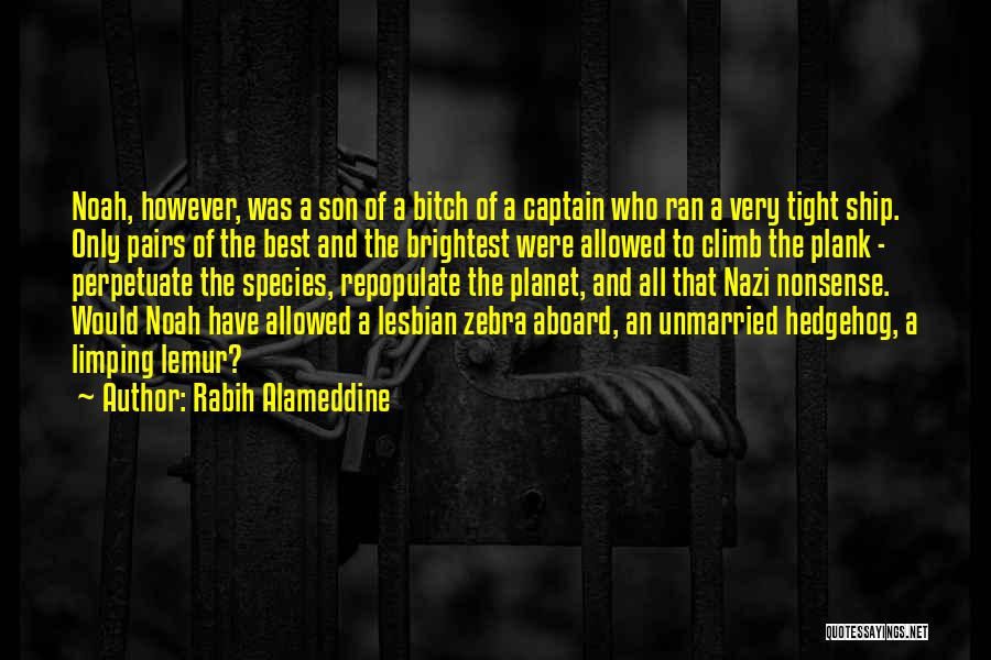 Best Unmarried Quotes By Rabih Alameddine