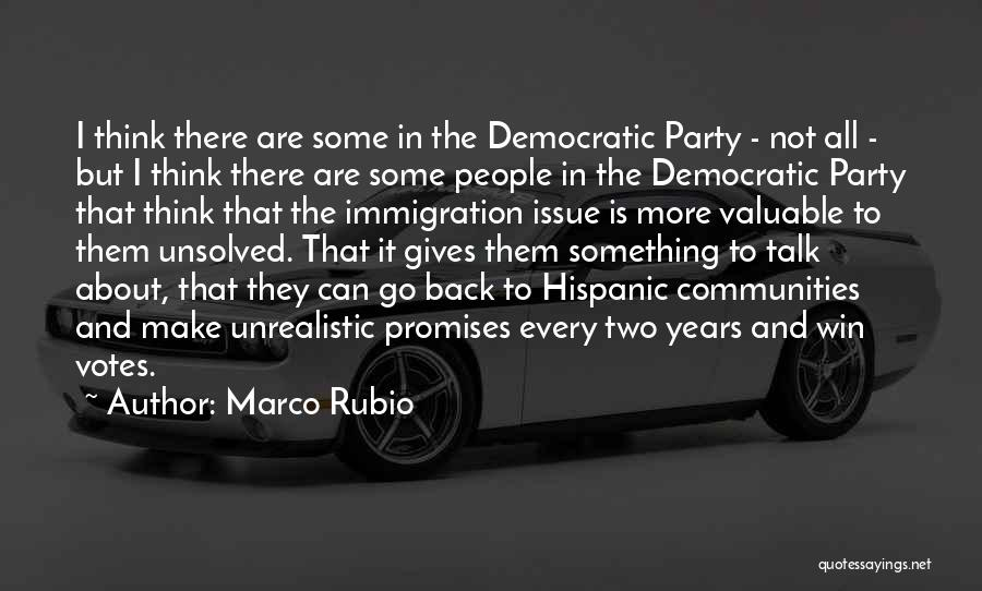 Best Unrealistic Quotes By Marco Rubio