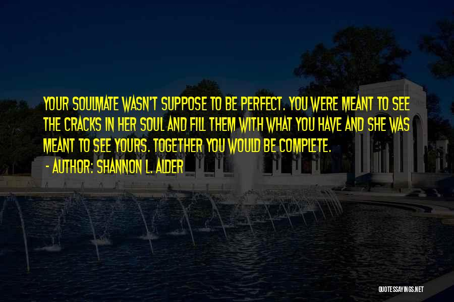Best Unrealistic Quotes By Shannon L. Alder