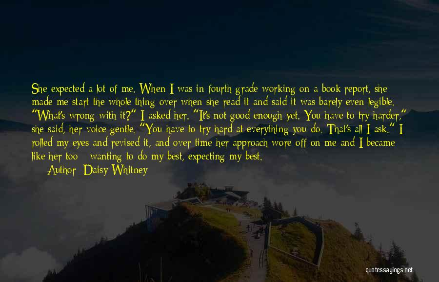 Best Wanting Quotes By Daisy Whitney