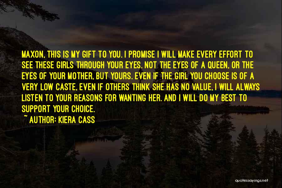 Best Wanting Quotes By Kiera Cass