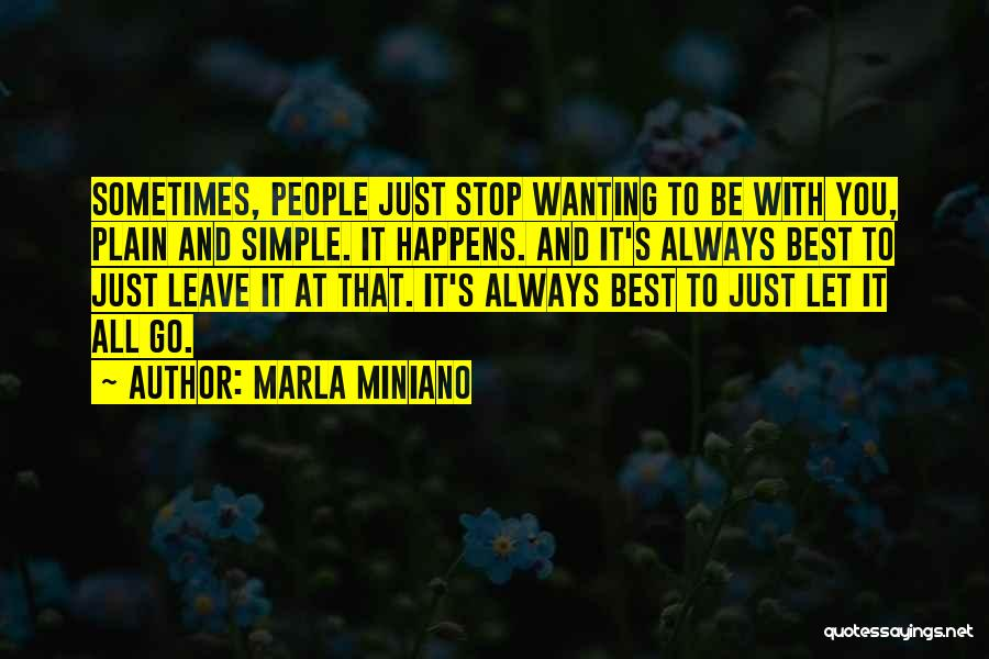 Best Wanting Quotes By Marla Miniano