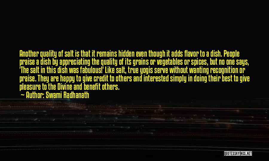Best Wanting Quotes By Swami Radhanath
