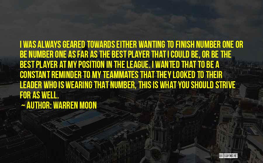 Best Wanting Quotes By Warren Moon