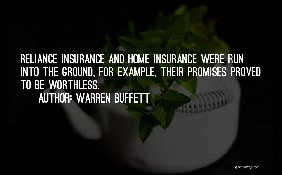 Best Way To Get Home Insurance Quotes By Warren Buffett