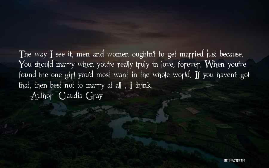 Best Way To Love Quotes By Claudia Gray
