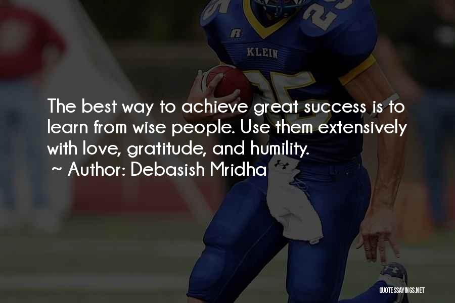 Best Way To Love Quotes By Debasish Mridha