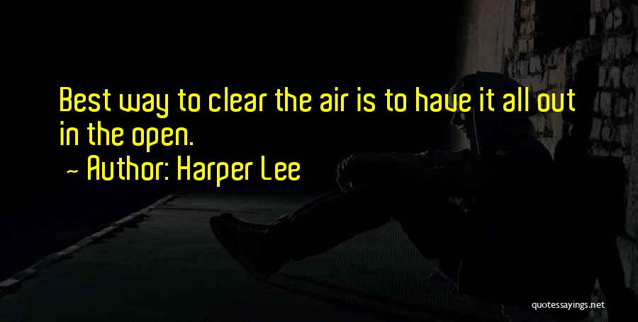 Best Way To Love Quotes By Harper Lee