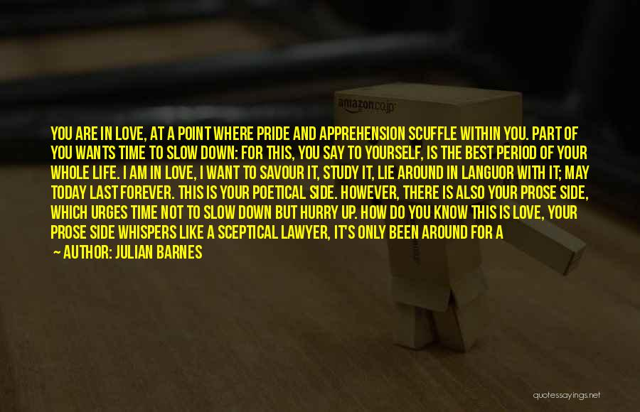 Best Way To Love Quotes By Julian Barnes