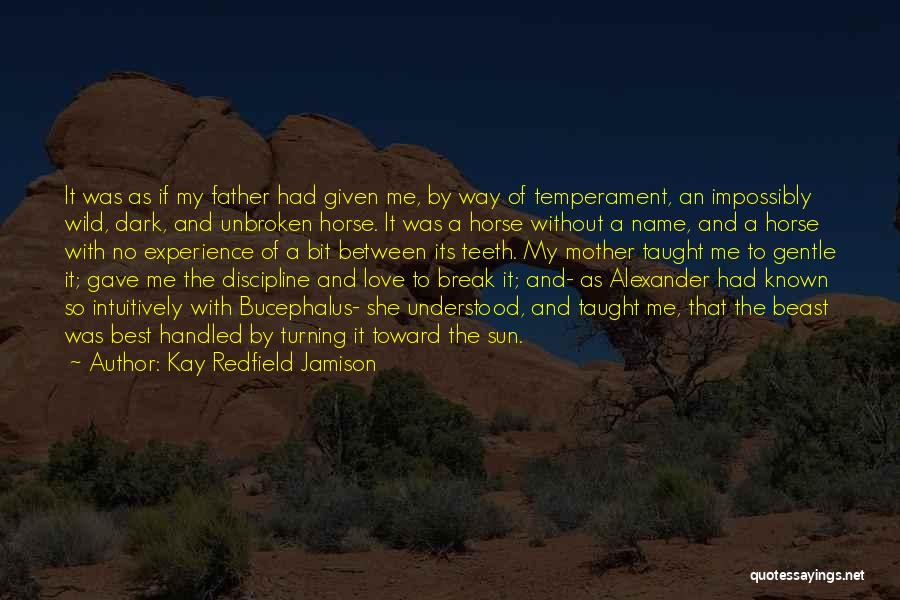 Best Way To Love Quotes By Kay Redfield Jamison