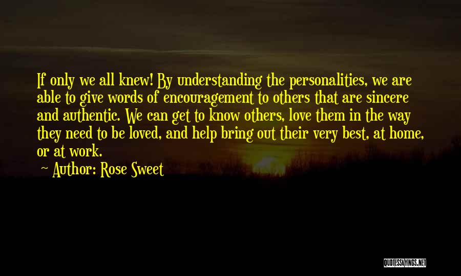 Best Way To Love Quotes By Rose Sweet