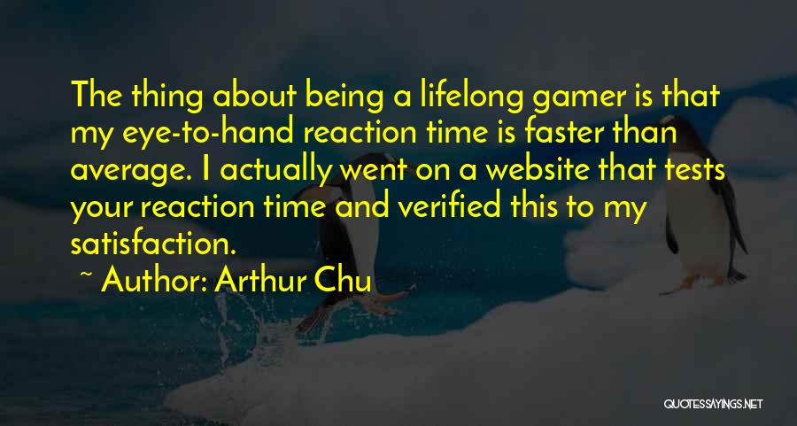 Best Website Quotes By Arthur Chu