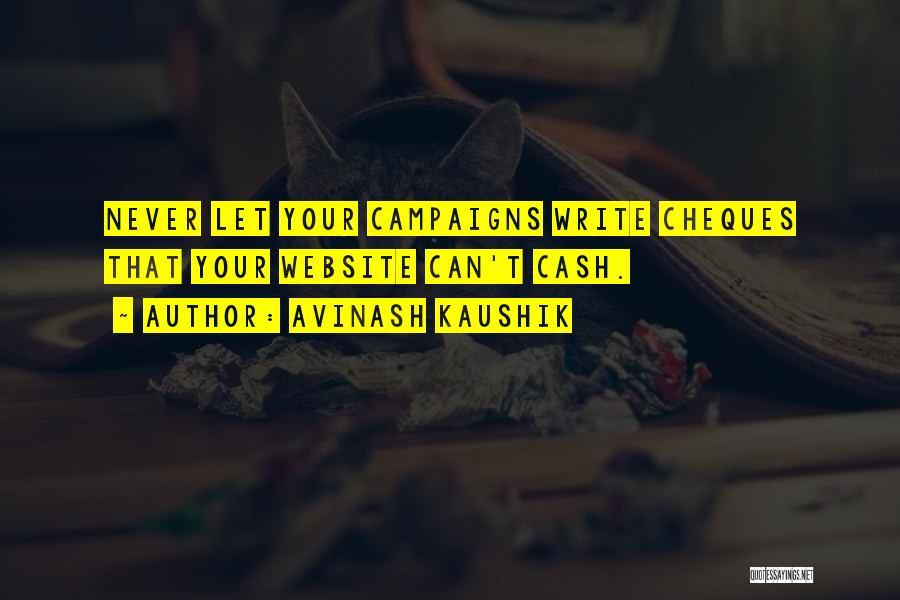 Best Website Quotes By Avinash Kaushik