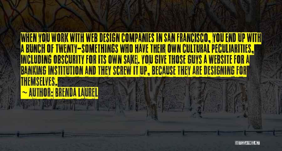 Best Website Quotes By Brenda Laurel