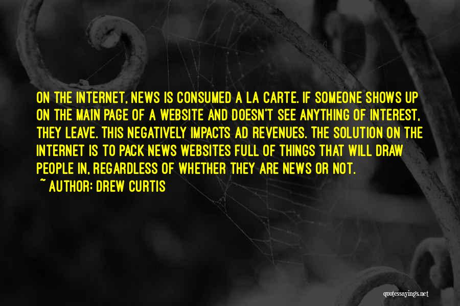 Best Website Quotes By Drew Curtis