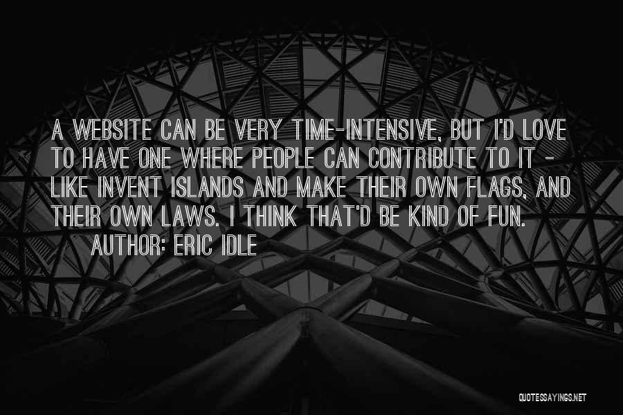 Best Website Quotes By Eric Idle