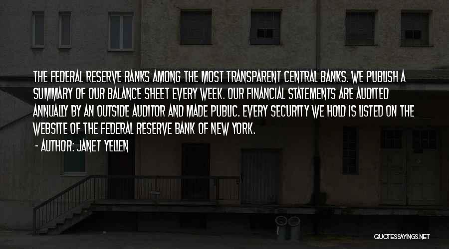 Best Website Quotes By Janet Yellen