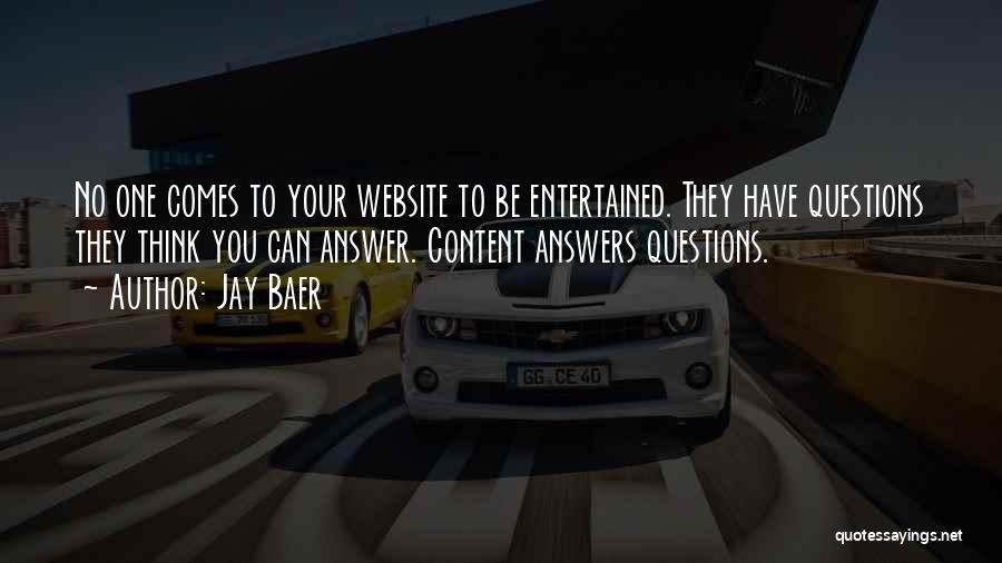 Best Website Quotes By Jay Baer
