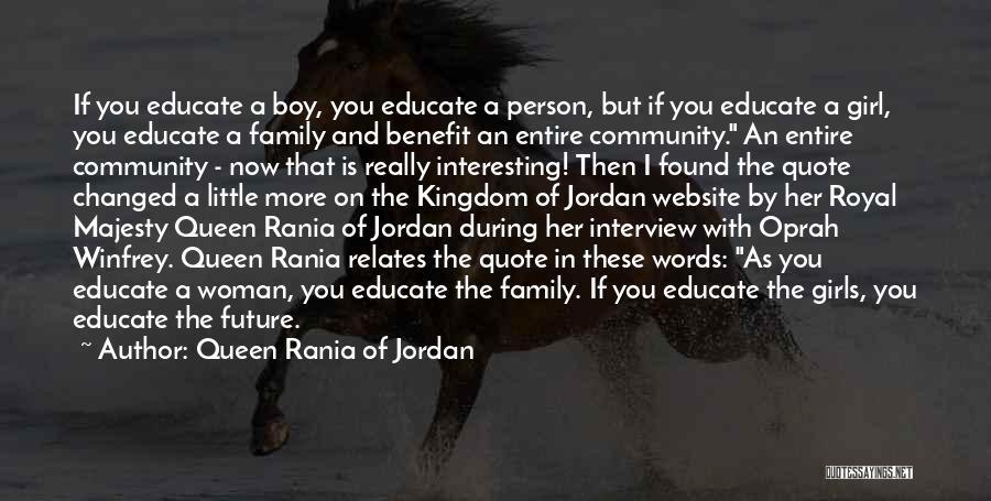 Best Website Quotes By Queen Rania Of Jordan