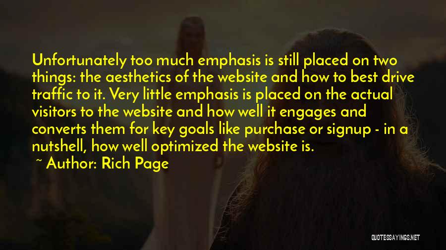 Best Website Quotes By Rich Page