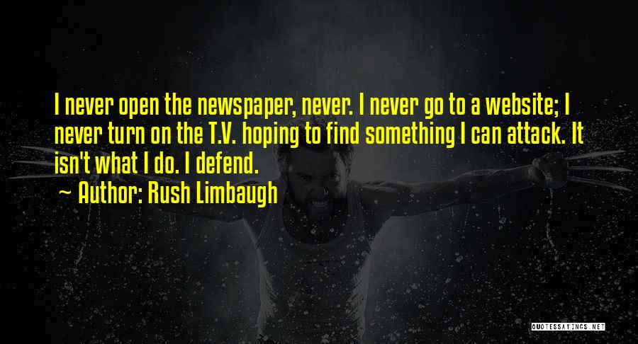 Best Website Quotes By Rush Limbaugh