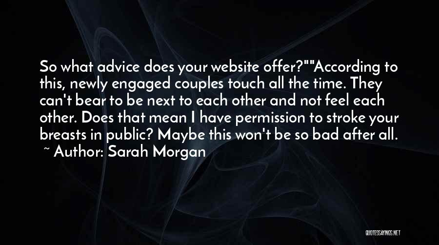 Best Website Quotes By Sarah Morgan