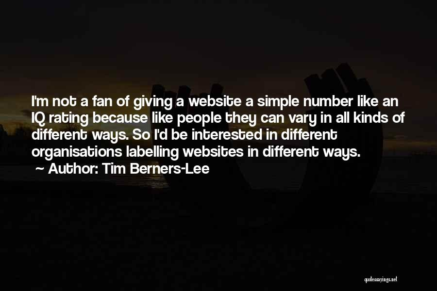 Best Website Quotes By Tim Berners-Lee