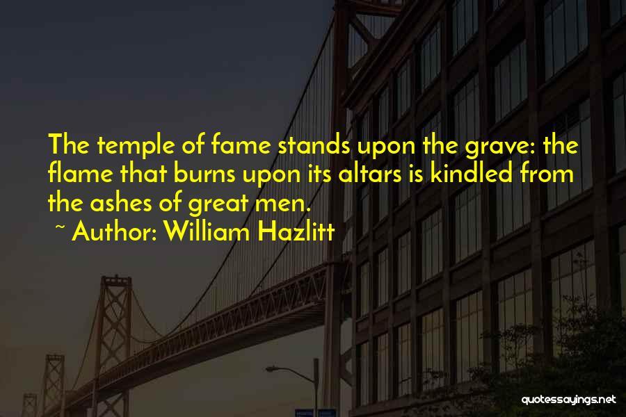 Best William Temple Quotes By William Hazlitt