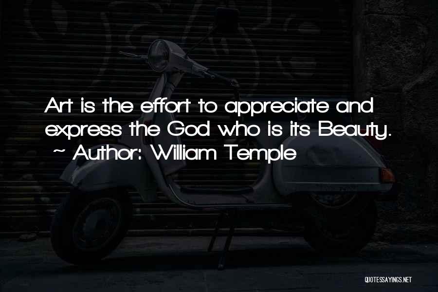 Best William Temple Quotes By William Temple