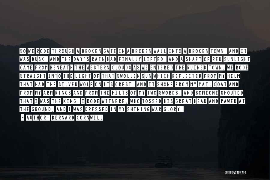 Best Wolf's Rain Quotes By Bernard Cornwell