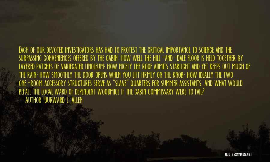 Best Wolf's Rain Quotes By Durward L. Allen