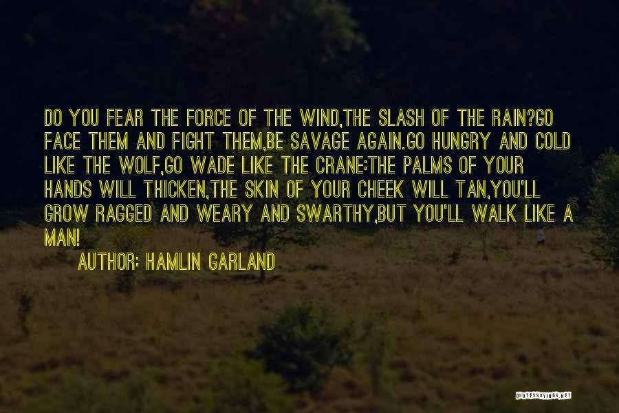 Best Wolf's Rain Quotes By Hamlin Garland